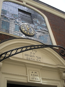 Bevis Marks Synagogue from Wikipedia, under creative commons